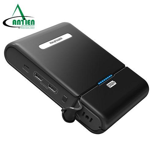 Sạc dự phòng cho Laptop, máy tính bảng, điện thoại, Modem Router RAVPower PB055 dung lượng pin lớn 27000mAh - Hãng phân phối chính thức - An Tiến