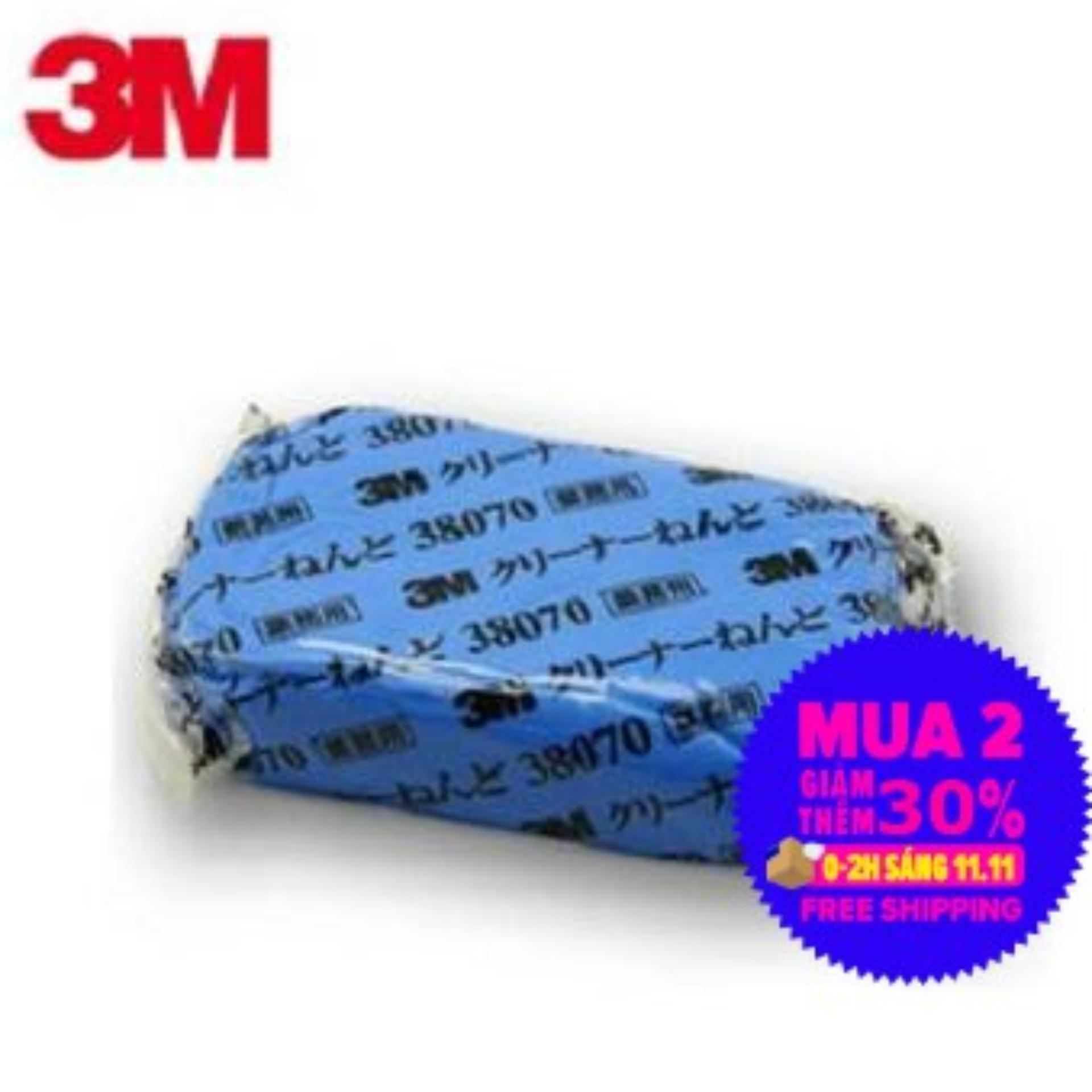 Deal Khuyến Mãi Đất Sét Tẩy Bụi Sơn Xe Hơi 3M Perfect It III Cleaner Clay 38070 (Xanh)