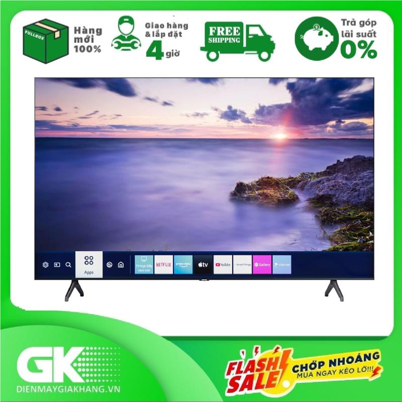 [GIAO HÀNG 2 - 15 NGÀY, TRỄ NHẤT 15.09] [Trả góp 0%]Smart Tivi Samsung 4K 75 inch UA75TU7000 Mới 2020 chính hãng