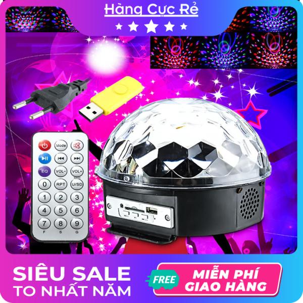 Bảng giá Đèn led Trang Trí vũ trường, kiêm LOA nghe nhạc - Trọn bộ gồm 1 đèn, 1 remote điều khiển, 1 usb đã có nhạc sẵn - Shop Hàng Cực Rẻ