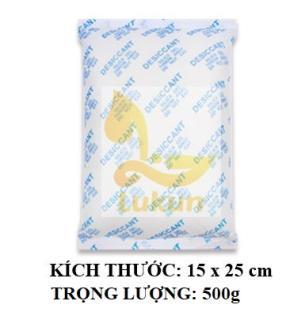 Gói Hút Ẩm Silicagel 2kg loại túi 1/2/3/4/5/10/20/50/100gr/200/500/1000g - Hạt chống ẩm LuKun
