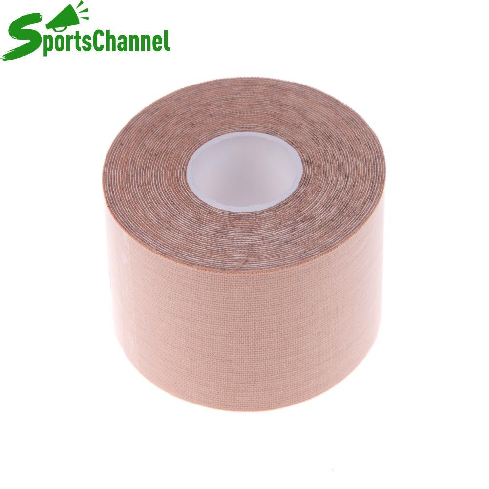 Coupon Khuyến Mại 5m*5cm Sports Muscle Care Tape Elastic Tape (Skin Color)