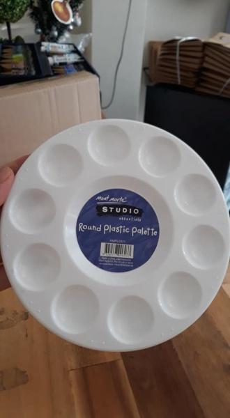 Mua Khay pha màu tròn, nhựa Mont marte
