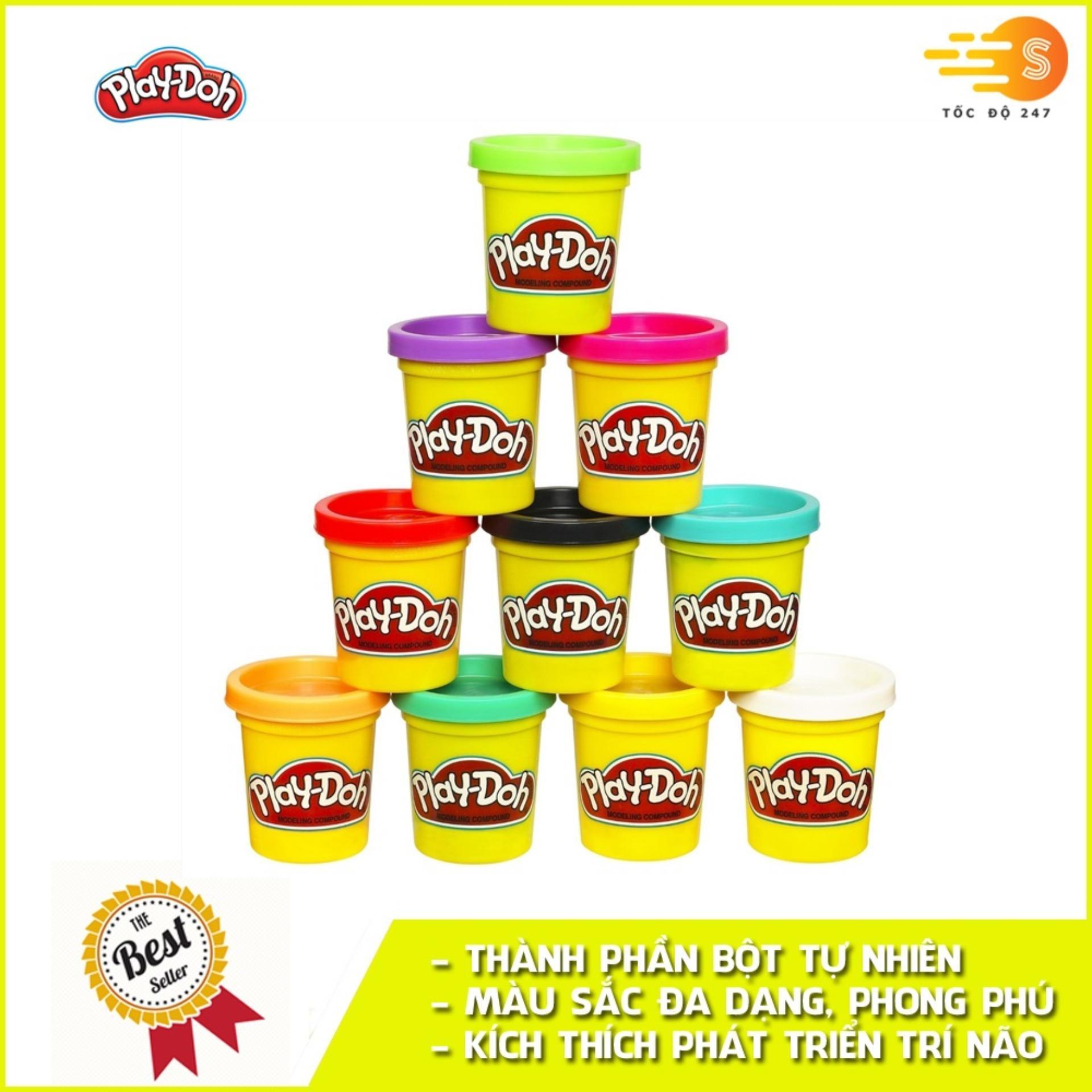 Mã Tiết Kiệm Để Mua Sắm Bột Nặn Tạo Hình 1 Màu Mini Play-Doh B5517A (màu Ngẫu Nhiên)