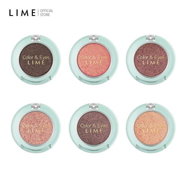 [12.12]Phấn Mắt Nhũ Thời Thượng Lime Color & Eyes Single Sparkle 1.4g giá rẻ