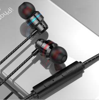 Tai nghe có dây lõi tứ siêu bass Q21 âm thanh toàn cảnh 360 độ chân thực, sử dụng được với tất cả các dòng điện thoại, thumbnail