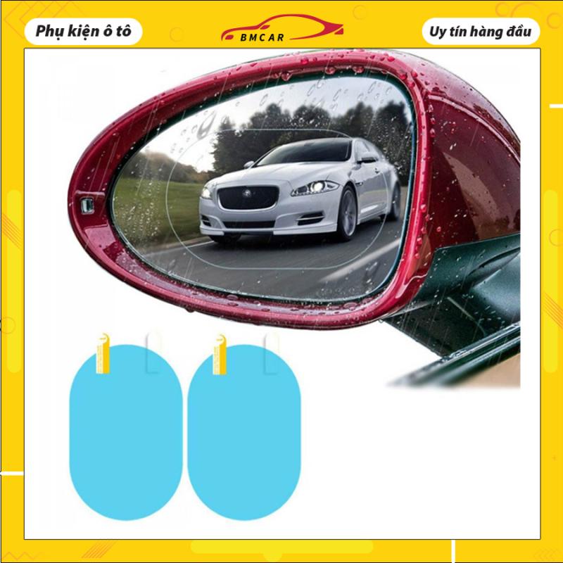 Bộ 2 miếng dán kính CHỐNG NƯỚC cho ô tô, xe máy đảm bảo an toàn, sử dụng dễ dàng