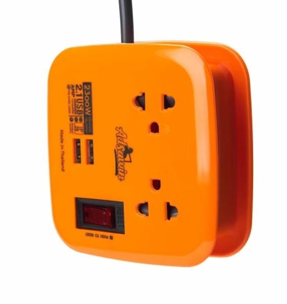 Ổ CẮM ĐA NĂNG TOSHINO ADSAWIN AT 1.8 - USB 2.1A , 2300W CHỐNG XUNG ĐIỆN,CHỐNG SÉT giá rẻ
