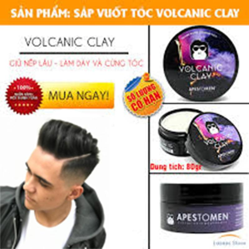 Sáp vuốt tóc giữ nếp lâu, Sáp Vuốt Tóc Nam Volcanic Clay Apestomen, Hương Thơm nam tính, Giữ nếp Vượt Trội, MUA NGAY để được giá ưu đãi tốt nhất! PT shop nhập khẩu