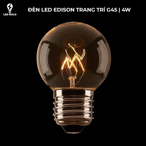 Bóng Đèn Edison G45 4W E27 2700k