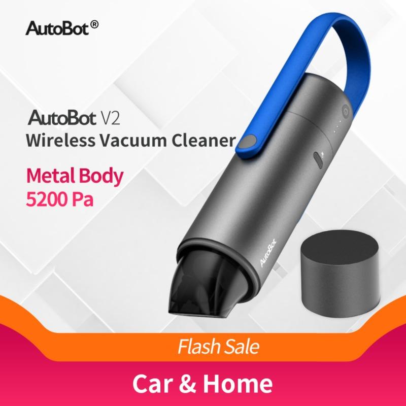 [Autobot] Máy hút bụi cầm tay không dây thông minh, lõi hút HEPA 5200 PA (tiện lợi cho không gian sống nhỏ và xe ô tô)