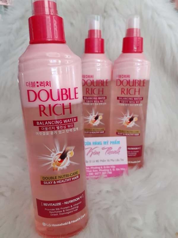Double Rich xịt dưỡng tóc chăm sóc tóc hư tổn ( hồng ) 250ml hương nước hoa, cam kết hàng đúng mô tả, chất lượng đảm bảo an toàn đến sức khỏe người sử dụng