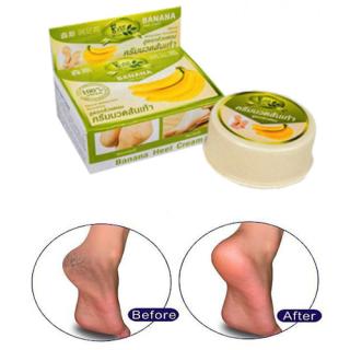Kem cải thiện nứt gót chân BANANA HEEL CREAM (Thái Lan) - kem cải thiện chân bị nứt nẻ hương chuối, khôi phục vùng da bị chai sạn (24g) thumbnail
