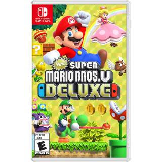 Game New Super Mario Bros.U Deluxe Nintendo Switch thumbnail