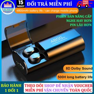 Tai Nghe Bluetooth F9 S 11 Tai Nghe Không Dây S11 Công Nghệ Bluetooth 5.0 Kén Sạc 4800 Mah Kiêm Sạc Dự Phòng Chống Thấm Nước Chống Bụi, Tai Nghe Không Dây Nghe Nhạc 4 - 6h Liên Tục, Dùng Cho Mọi Điện Thoại thumbnail