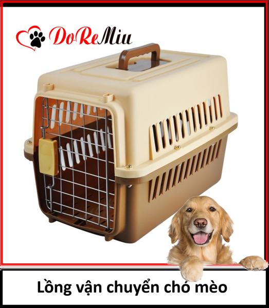 Lồng hàng không Doremiu Size 1 Lồng vận chuyển chó mèo thú cưng loại nhỏ và vừa