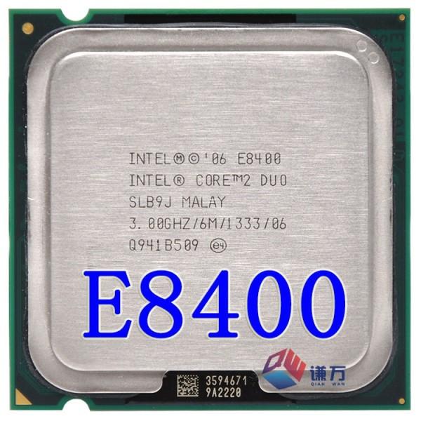 Bảng giá Cpu cho máy tính intel E8400 bóc main - E8400 Phong Vũ