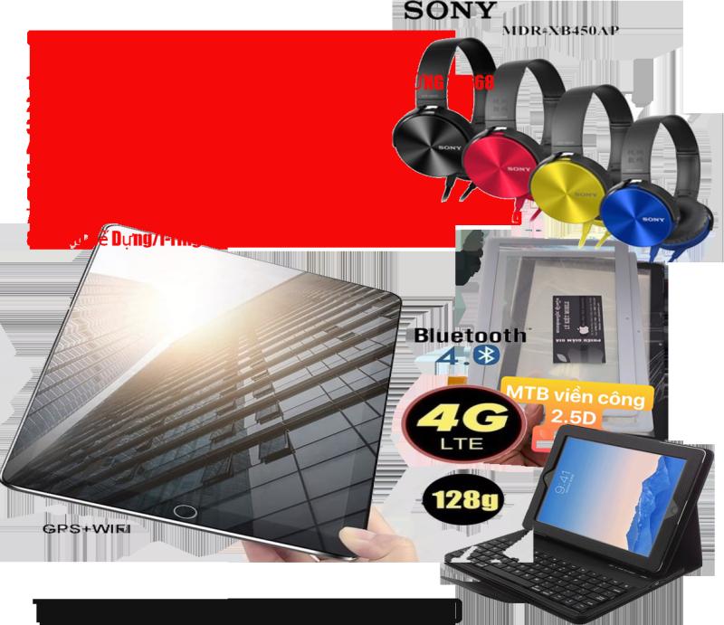 Tablet japan ZA668 phiên bản 2020  Ram 6G kèm tai nghe Blutooth Aripodr chính hãng