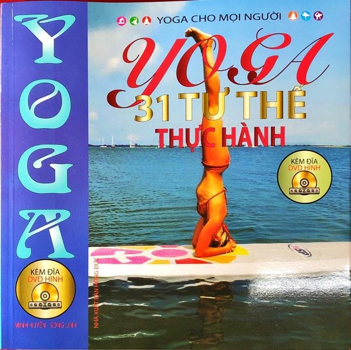 Mua SÁCH - Yoga 31 Tư Thế Thực Hành (tặng kèm đĩa DVD)