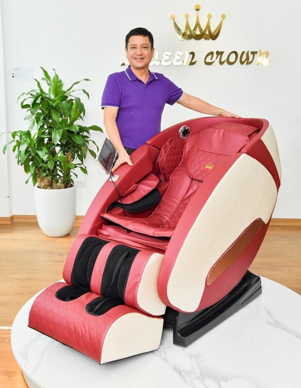 Ghế massage Queen Crown QC SL666