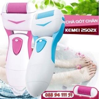 Máy chà gót chân loại tốt-máy chà gót chân Kmei vận hành êm ái bảo vệ da chân- BẢO HÀNH CHÍNH HÃNG 3 THÁNG LỖI 1 ĐỔI 1 TẠI PopBee Store thumbnail