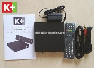Đầu K+ HD Full Box Tặng Thẻ Giải Mã K+ thumbnail