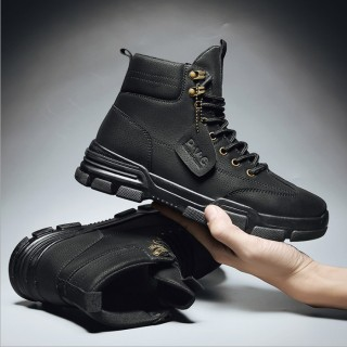 Giày bốt nam - giày cổ cao nam - bốt cao bồi nam HOT 2019 SP - 143 thumbnail