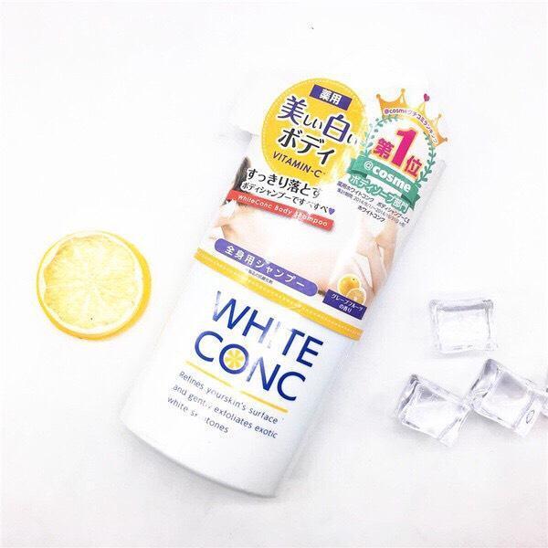 Sữa Tắm Dưỡng Trắng Da White Conc Nhật 360ml nhập khẩu