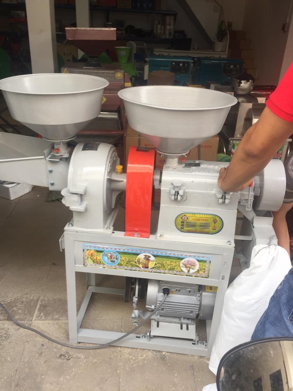 Máy xát gạo mini 2 tác dụng TF888