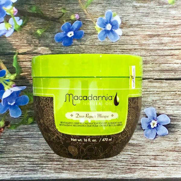 Kem Hấp Đặc Trị Tóc Hư Tổn Chuyên Sâu Macadamia Deep Repair Masque500ml