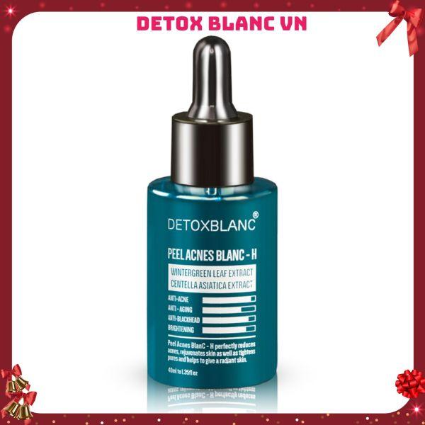 Serum pell acnes blanc detox blanc-H loại bỏ mụn tận gốc mụn