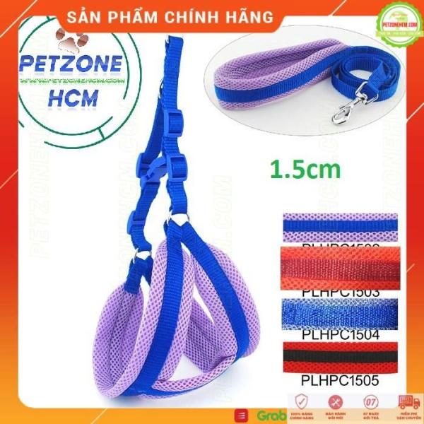 Dây dắt chó FREESHIP bộ dây dắt và yếm có nệm lót rất êm - PetZoneHCM