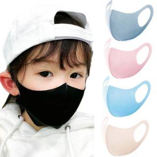 Combo 10 khẩu trang vải su cho bé, vải thoáng mịn dễ thở. thumbnail