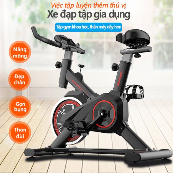 Bảng giá Xe đạp tập gym tại nhà dụng cụ tập gym đạp xe tại nhà yên tĩnh tiện lợi nhỏ gọn Keep Going Max