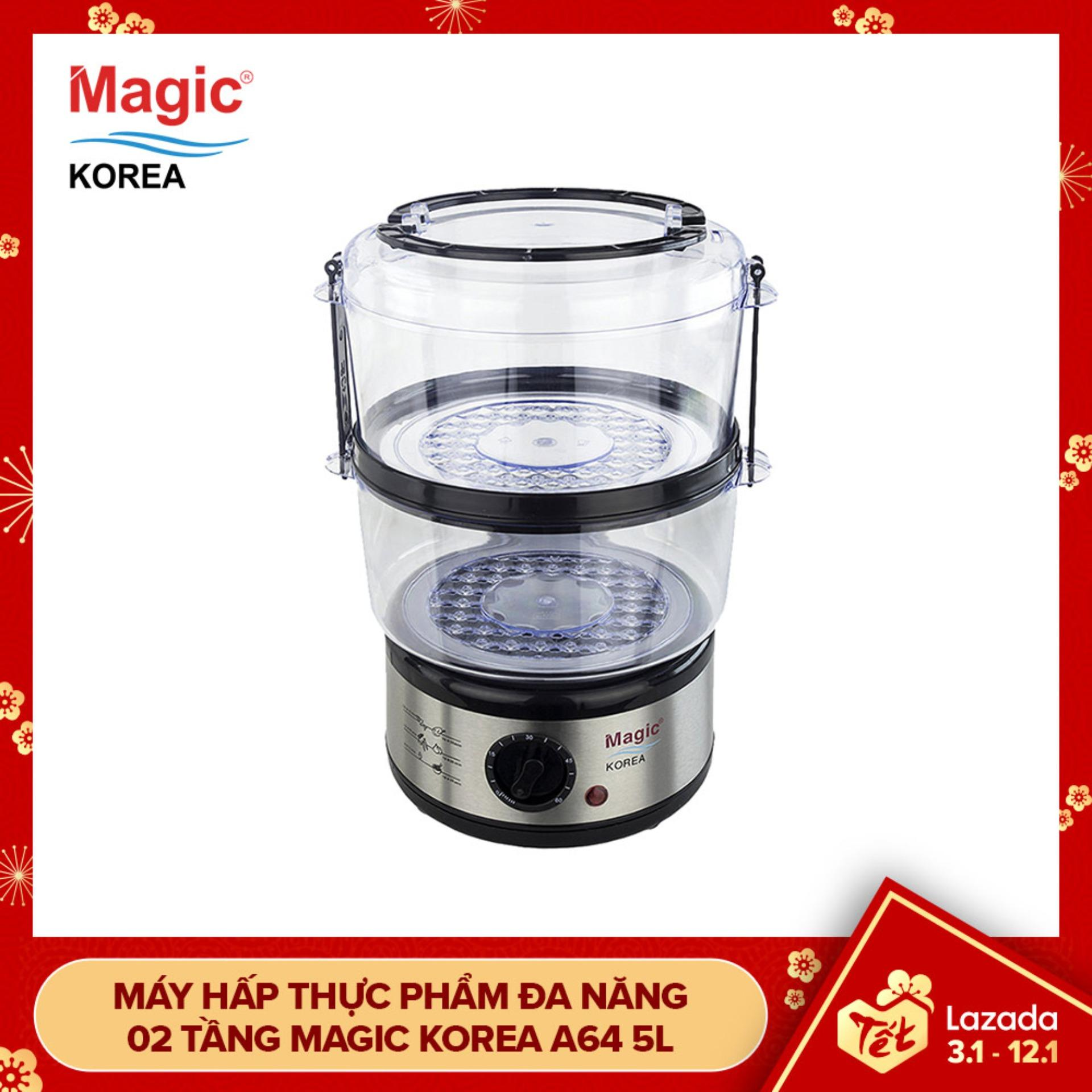 Máy hấp thực phẩm Magic Korea A64