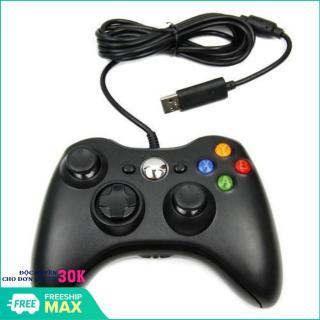 Tay cầm chơi game liên quân, tay cầm chơi game fifa online, tay cầm chơi game USB for PC 360 có dây (Màu ngẫu nhiên) thumbnail