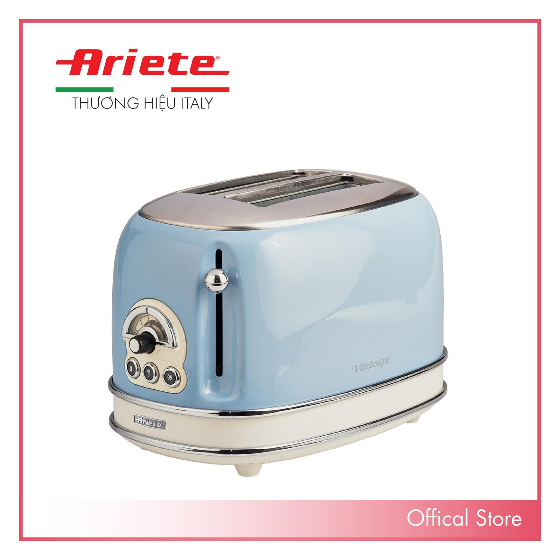 Nướng bánh mỳ 2 khay  (Màu xanh da trời) Ariete  MOD. 0155/15