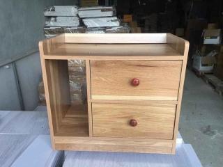 Tủ đầu giường 3 ngăn ( kích thước cao 42x rộng 45 x sâu 30) thumbnail