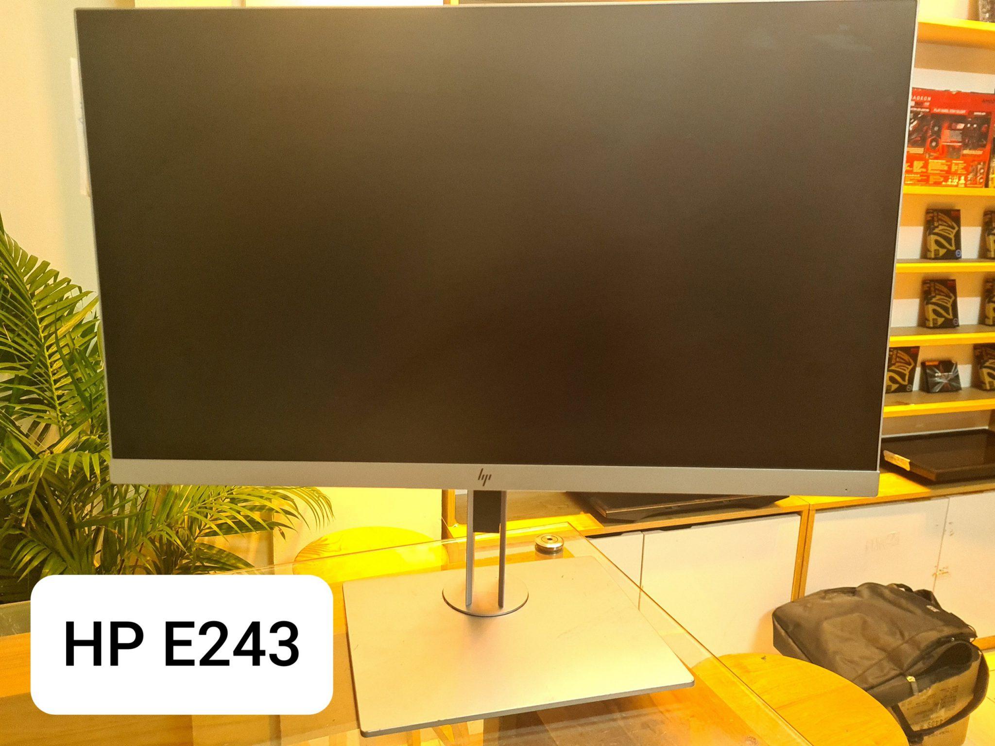 Màn hình máy tính  HP EliteDisplay E243I (23.8 inch / FHD / LED /IPS / 250cd / m² / HDMI+ VGA/ 60Hz/5ms )