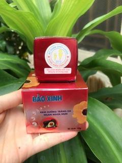 Kem Bảo Xinh ( Bảo Xuân) Dưỡng Trắng Da Ngăn Ngừa Mụn 10g thumbnail