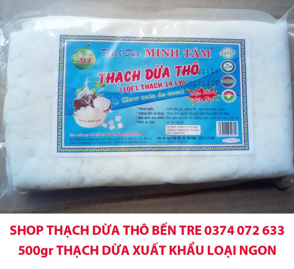 Coupon Giảm Giá 500gr Thạch Dừa Thô Xuất Khẩu Loại Ngon