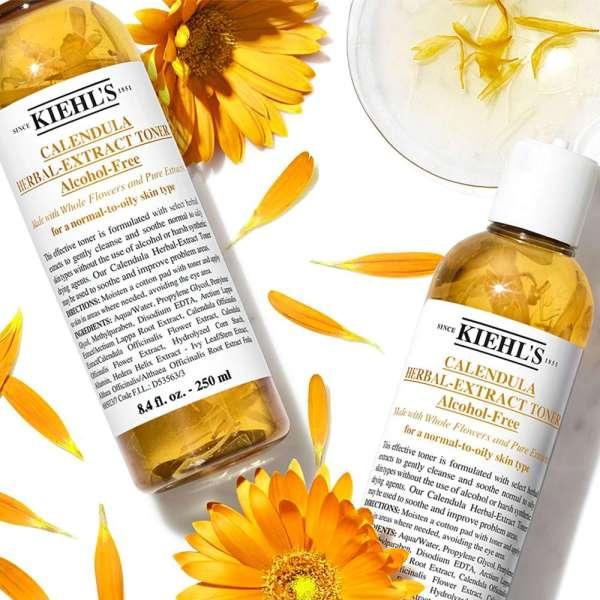[KIEHLS] Nước cân bằng Hoa Cúc Kiehls Calendula Herbal Extract Alcohol-Free Toner 40ml Minisize tốt nhất