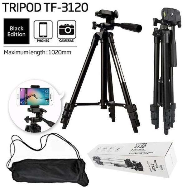 Gậy chụp hình 3 chân Tripod 3120 cho điện thoại máy ảnh điện thoại