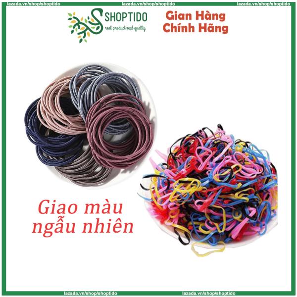Túi zip thun cột tóc nhiều màu, nhiều loại present for you độ co dãn đàn hồi cao