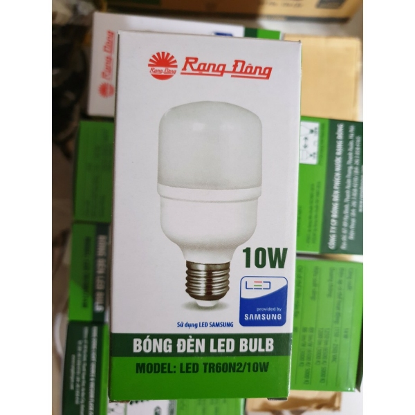 Bóng Đèn LED Trụ Rạng Đông 10W ChipLed SAMSUNG ( A/S Trắng ) HP Electrical