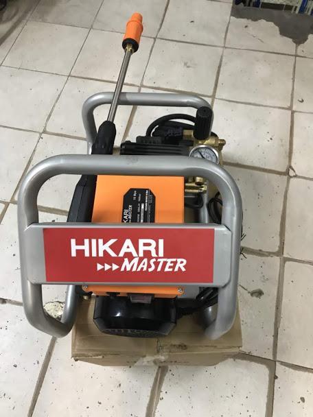 Máy rửa xe Hikari HK-H566, made in Thái Lan, 2.6 KW, dây đồng, pít tông sứ, áp  xuất 160 Bar, lưu lượng 880  lít/h