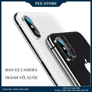 KÍNH CƯỜNG LỰC CAMERA cho iPhone 7Plus 8Plus X Xs Xs max - PEE STORE thumbnail