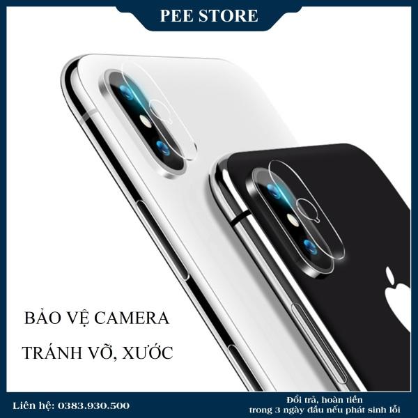 KÍNH CƯỜNG LỰC CAMERA cho iPhone 7Plus/ 8Plus/ X/ Xs/ Xs max - PEE STORE