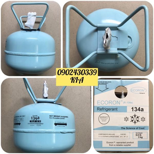 [Có sẵn] Gas lạnh R134 Ecoron Bình 3kg