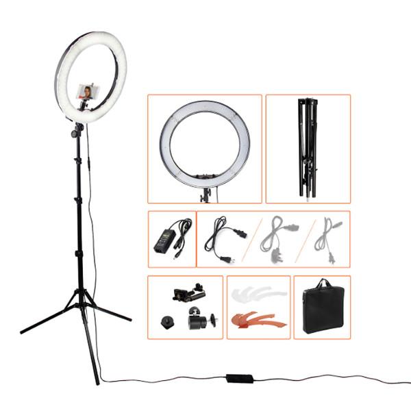 [Bán chạy trong tháng] Đèn Led LiveStream 50cm cao cấp  phù hợp cho các studio quay chụp mẫu, chụp chân dung -Hàng nhập khẩu